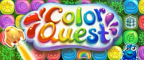Color Quest - Help our friends Ollie and Mo save the world of colors from the Evil Magician in this wonderful block buster game.