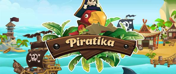Piratika - Journey the vast sea in search of treasures in this pirate-themed match 3 game.