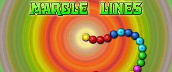 Marble Lines - Shoot Marbles Before The Line Reaches The End!