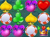 Legend of Ace Card Suit Match-3 Game Motif