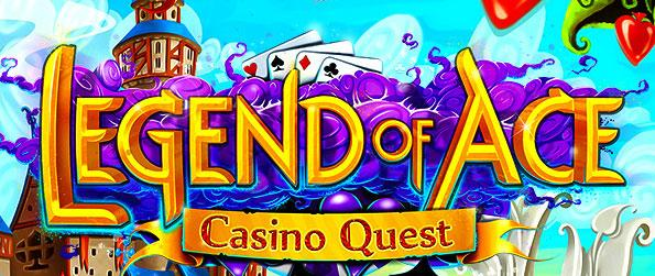Legend of Ace Casino Quest - Beat the match 3 challenges of each and every level in order to obtain the stars to earn poker card draws to complete a poker hand and ultimately gain you play chips for the slots game.