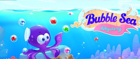 Bubble Sea Mystery - Enjoy an undersea adventure where you can pop bubbles on lots of brilliant levels.