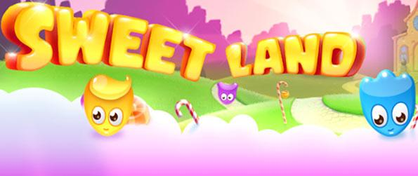 Sweet Land - Enjoy a tasty trip in a really cute match 3 game full of fun.
