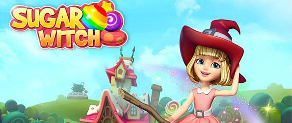 Sugar Witch - Follow a wonderful journey in candy land and the lot of sweet-tile matching adventure in Sugar Witch.