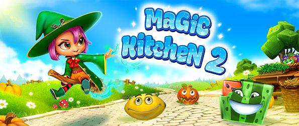 Magic Kitchen 2 - Step into this wonderful adventure to gather magical ingredients and utilize them in order to defeat Dr. Eggwhite in this brilliant new match-3 game.