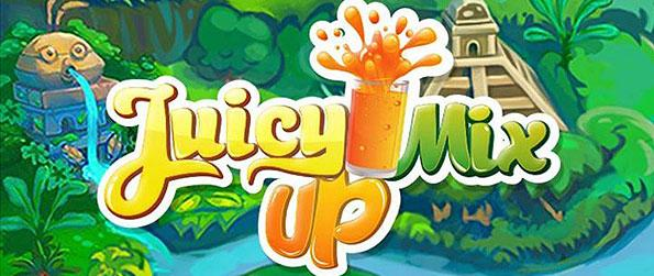Juicy Mix Up - Play a fascinating cooking adventure as you help our chef cat gather his ingredients with match-3 challenges in the game.