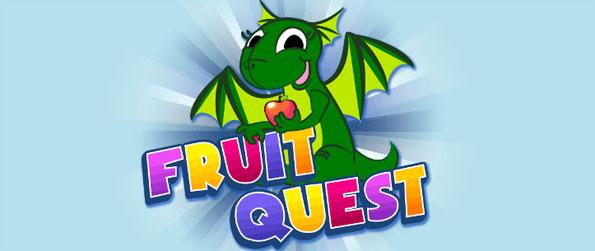Fruit Quest - Rely on the quickness of your recognition skills to group together lines of fruits.