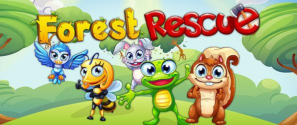 Forest Rescue - Get on to the tile-matching fun and adventure of our cute and furry animals from the forests in this brilliant match-3 game on Facebook!