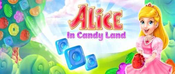 Alice in Candy Land - Follow Alice on her magical adventure in a place full of sweets.