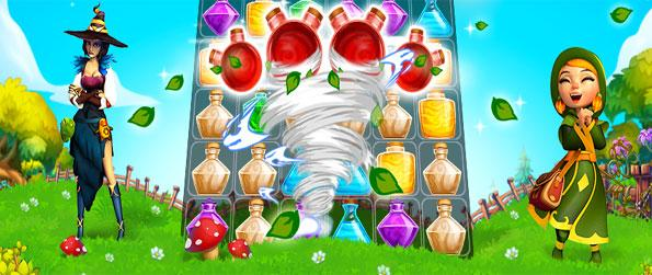 Cookie Mix - Enter the world of alchemy and mix potions in order to obtain the desired score.