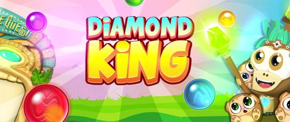 Diamond King - Enjoy this epic bubble popper game that's of the highest quality and is full of great gameplay.