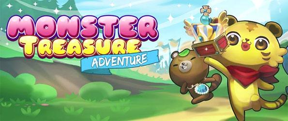 Monster Treasure Adventure - Enjoy this fantastic match-3 game that's sure to impress on all fronts.