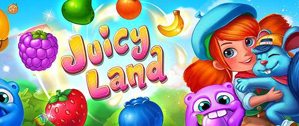 Juicy Land - Set your pace for another luscious matching treat in this brimming new casual game in Facebook.