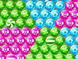 Colored Spheres in Bubble Cheese Hero