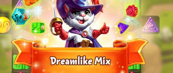 Dream World - Put your Match 3 skills to the test in this exciting Facebook game.