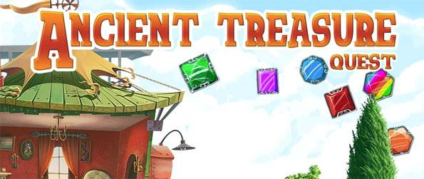 Ancient Treasure Quest - Play this phenomenal match-3 game that will take you on an unforgettable quest to find treasure.
