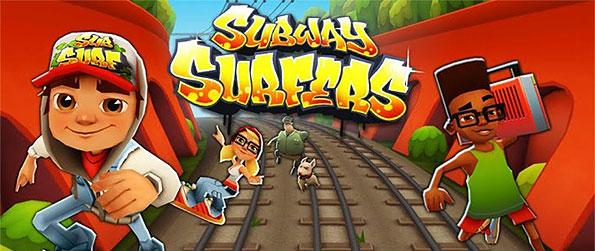 Subway Surfers - Subway Surfers is a free-to-play, endless runner type of game where it pitches you into the role of a kid surfer, trying to outrun a train yard inspector.