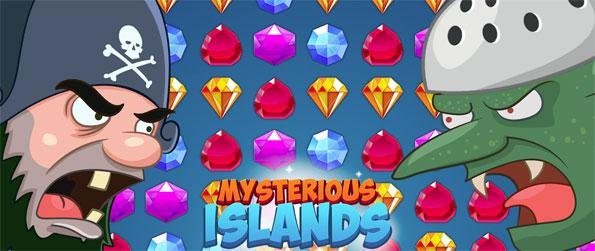 Mysterious Islands - Beat the evil skeleton pirates in this fun filled and fast-paced match-3 that's built to impress.