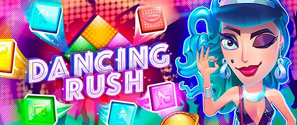 Dancing Rush - Enjoy dance-off battles without the need to get you literally dancing to the beat in this brick-bursting fun of a match-3 challenge in Dancing Rush!