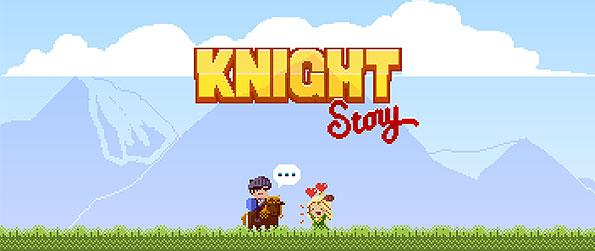 Knights Story - Enjoy an online match 3 game, presented with the nostalgic and pixelated classic RPG adventure.