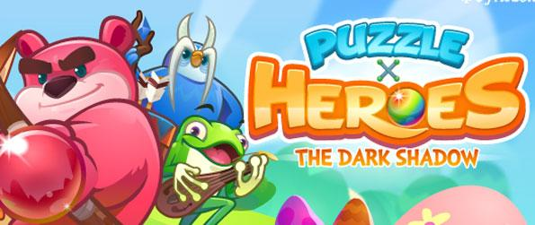 Puzzle x Heroes - Experience an excellent fantasy story in a casual game.
