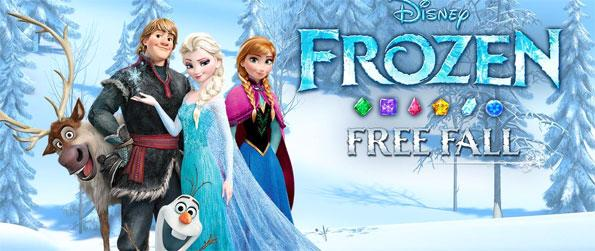 Frozen Free Fall - Experience a match-3 adventure of a lifetime in the frost-covered Kingdom of Arendelle along with your favorite Frozen characters in this brilliant game, Frozen Free Fall!