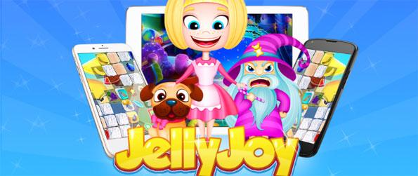Jelly Joy - Challenge yourself in this mind-teasing game, Jelly Joy, and clear the stage as quickly as you can!