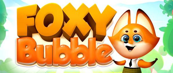 Foxy Bubble - Drop all balls from the top to clear the game.