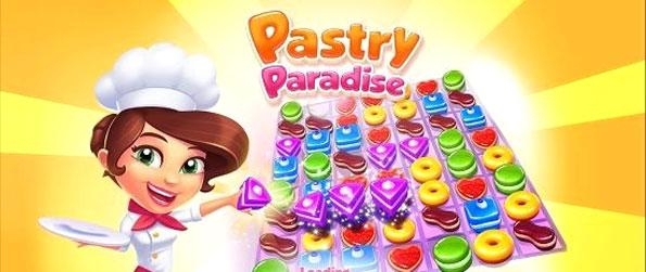 Pastry Paradise - Play this exciting match-3 game that elevates this amazing genre to new heights.