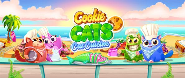 Cookie Cats - Enjoy this exciting and addictive connect-3 game that has a lot of fun moments to offer.