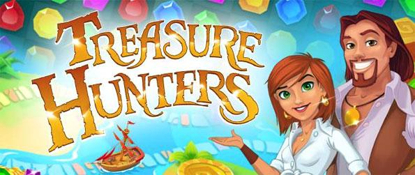 Treasure Hunters - Enjoy this highly innovative match-3 game that impresses on all fronts.
