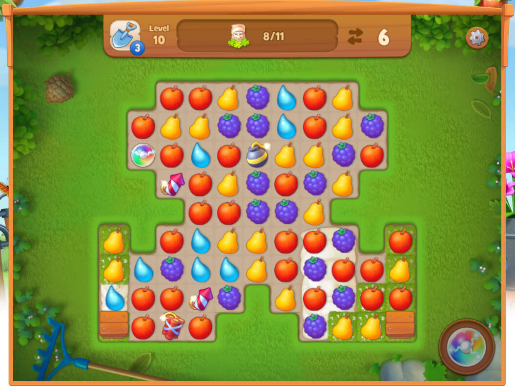 Gardenscapes: New Acres: Gameplay ...