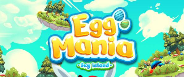 Egg Mania: Sky Island - Play this captivating connect-3 game that'll provide you with hours upon hours of enjoyment.