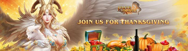 League of Angels Invites You to a Thanksgiving Feast