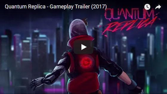Escape From an Orwellian Cyberpunk Metropolis in Quantum Replica