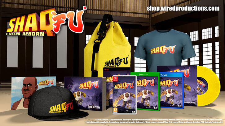 Shaq Fu: A Legend Reborn (Extremely) Limited Collector's Edition Announced