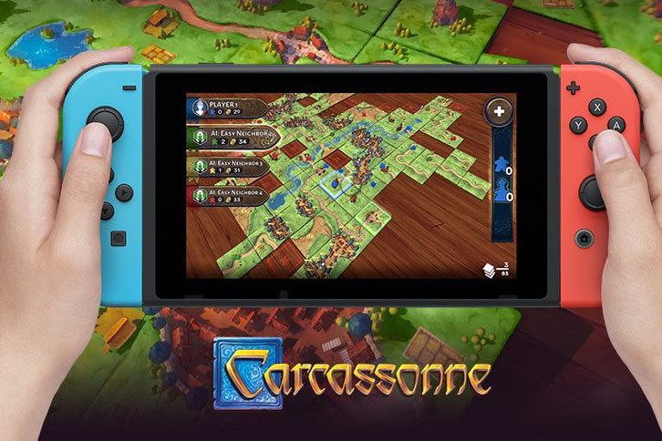 Asmodee Digital to Bring Board Games to Nintendo Switch