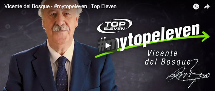 Vincente del Bosque Selects His Ultimate 'Top Eleven' International Team