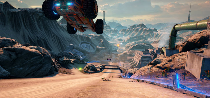 GRIP: Combat Racing Nintendo Switch Trailer Announced
