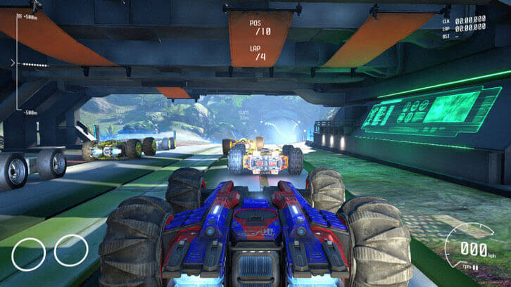 Start Your Rocket-Powered Thrusters and Prepare to Defy Gravity in GRIP: Combat Racing