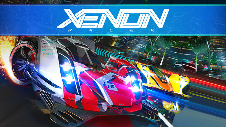 'Xenon Racer' Open Beta Launches on Steam Today
