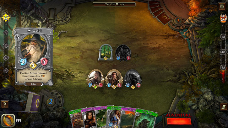 Asmodee Digital Bringing The Lord of the Rings: Adventure Card Game  to Consoles and PC on August 8th 2019