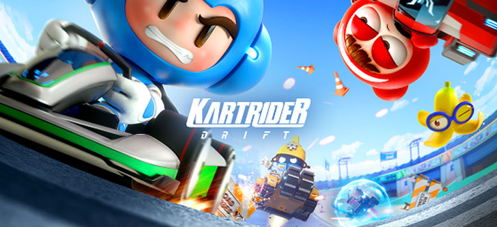 Grab the Wheel in the Newest Online Cross-Platform Kart Racing Game, KartRider: Drift!