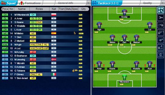 Manage your Perfect Team in Top Eleven