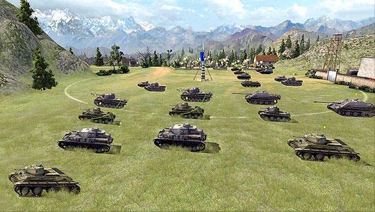 Blitzkrieg in World Of Tanks