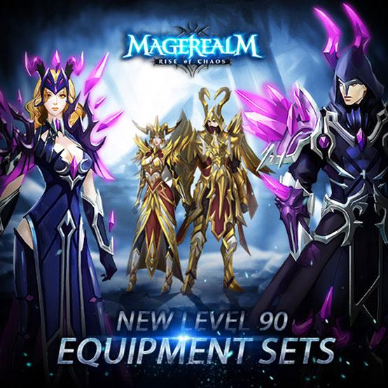 Stunning New Equipment Sets in Magerealm