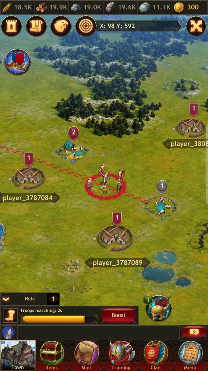 Vikings War of Clans тормозит