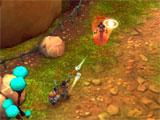 Slugterra: Dark Waters playing the campaign