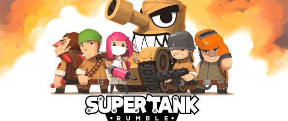 Super Tank Rumble - Man a tank and destroy your opponent in Super Tank Rumble.