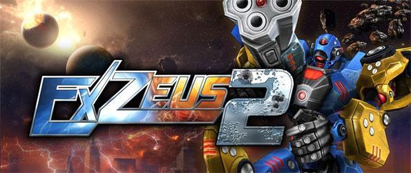 ExZeus 2 - A nostalgic yet intense experience of the best in retro-mecha combat arcade gaming.